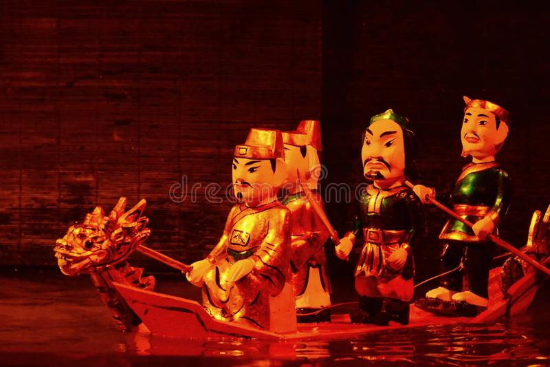 Fantoches de Watter foto de stock royalty free