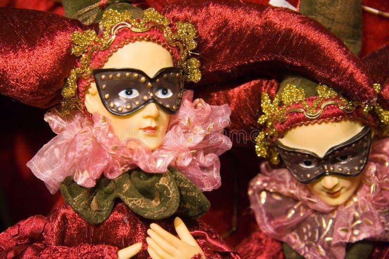 Fantoches do Natal imagem de stock royalty free