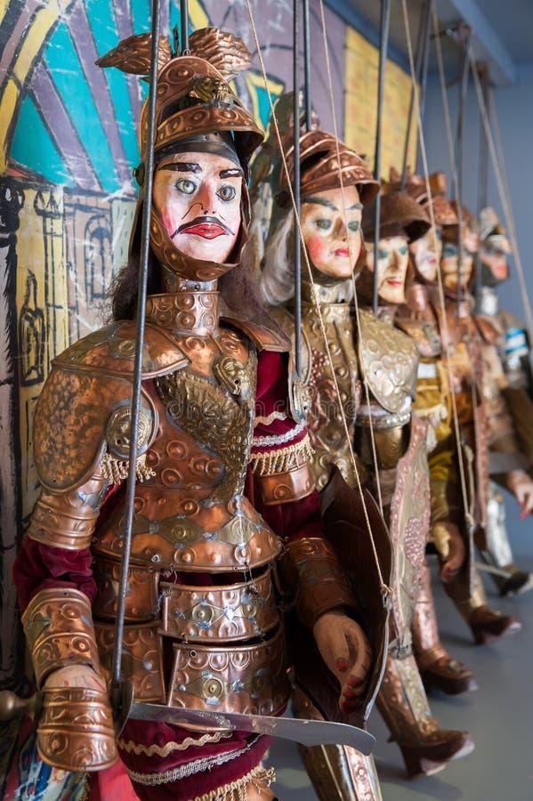 Fantoches sicilianos imagens de stock royalty free