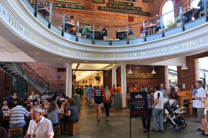 Fanueil Hall, Boston stock photo
