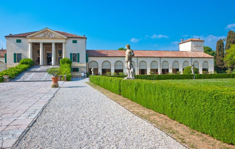 Fanzolo Di Vedelago , Italy - May 8, 2011: The villa Emo, design royalty free stock images