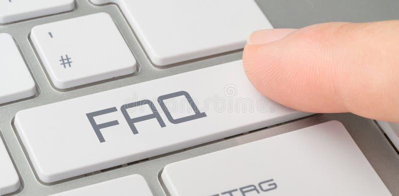 FAQ στοκ φωτογραφία