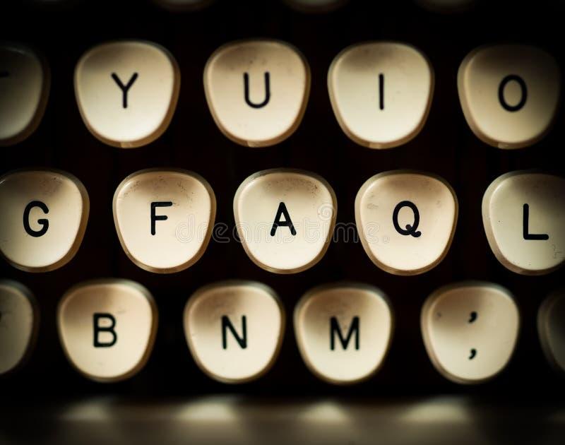 FAQ fotografia stock