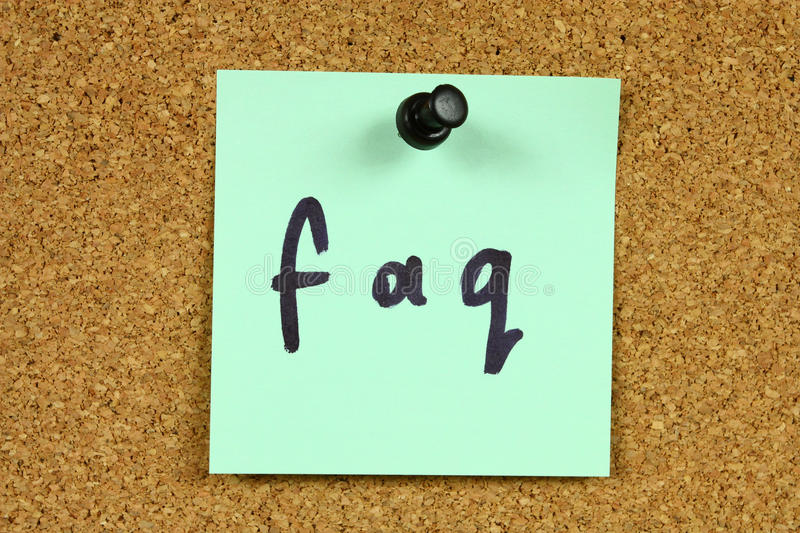 Download FAQ - Frequently Asked Questions Stock Image - Image: 11348467