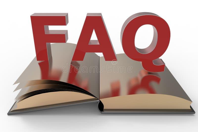 FAQ książka ilustracji