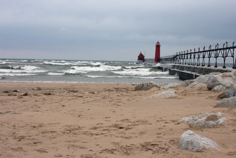 Faróis de Great Lakes fotos de stock royalty free