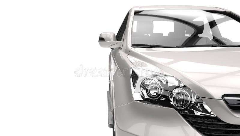 Faróis de SUV ilustração royalty free