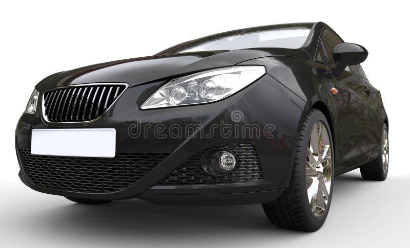 Faróis pretos do carro imagem de stock royalty free