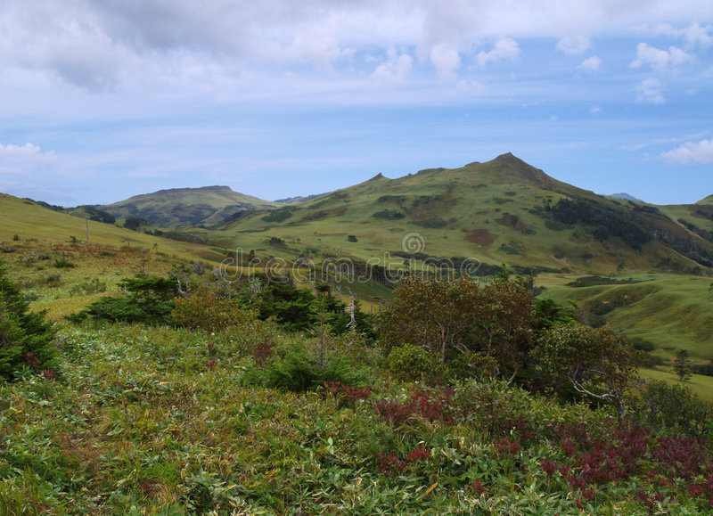 Far East landscape stock photo