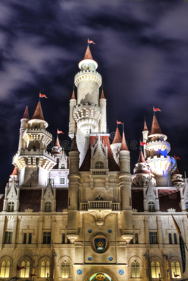 Download Far Far Away Castle At Universal Studios Singapore Stock Photo - Image of castle, royal: 13196788