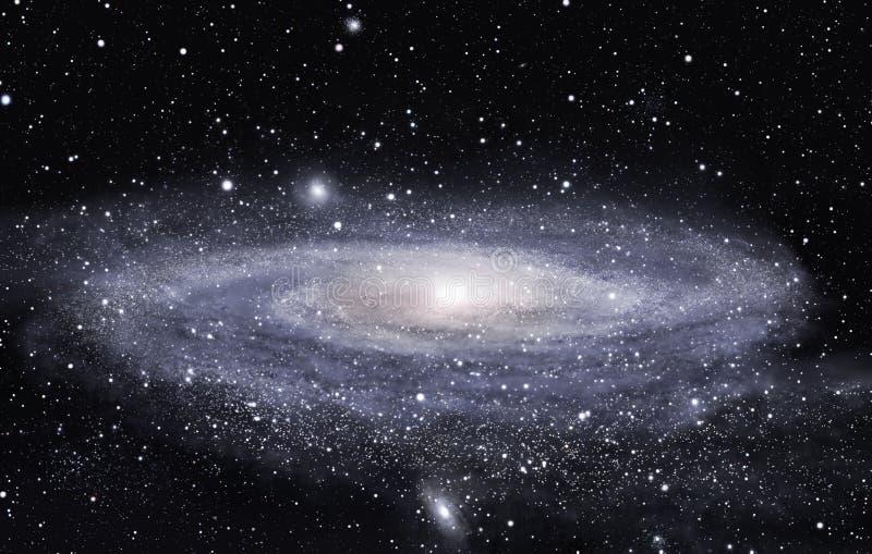 Far galaxy stock photo