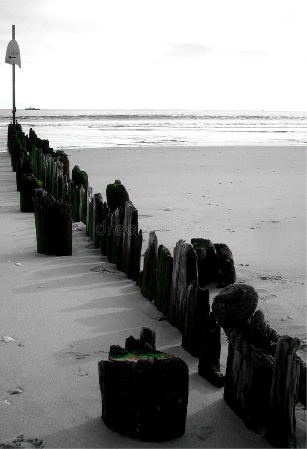 Far Rockaway beach stock image