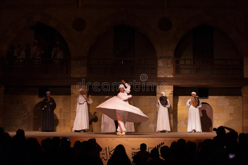 Download Far White Robe Whirling Dervish Sufi Dance Cairo Editorial Stock Photo - Image: 25844973