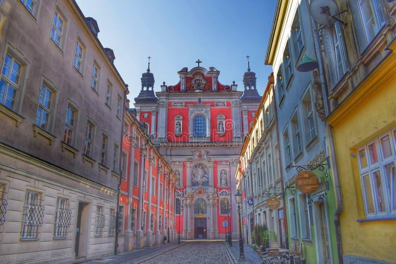 Fara Stare Miasto royalty-vrije stock afbeelding