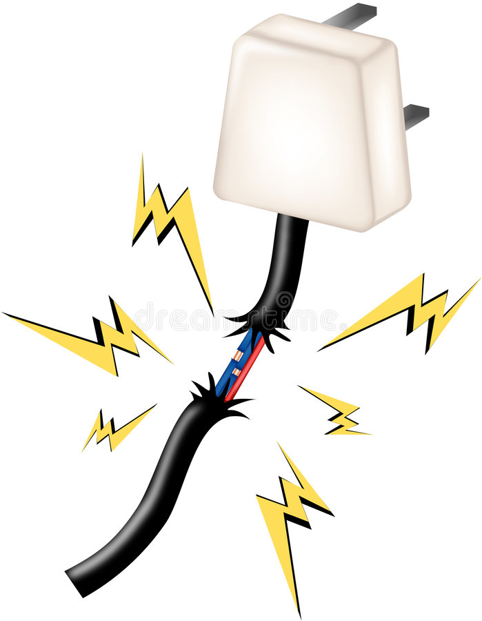 faraelektricitet stock illustrationer