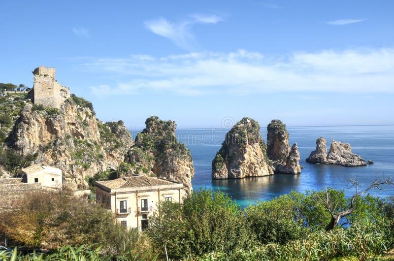 Download Faraglioni At Scopello, Sicily Stock Photo - Image of environment, sicily: 30197052