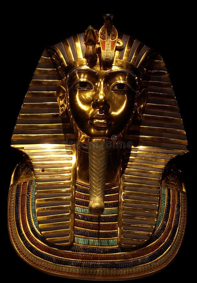 Faraon Tutanchamon burial mask stock images