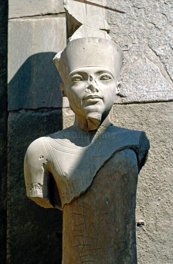 Faraostaty arkivbild
