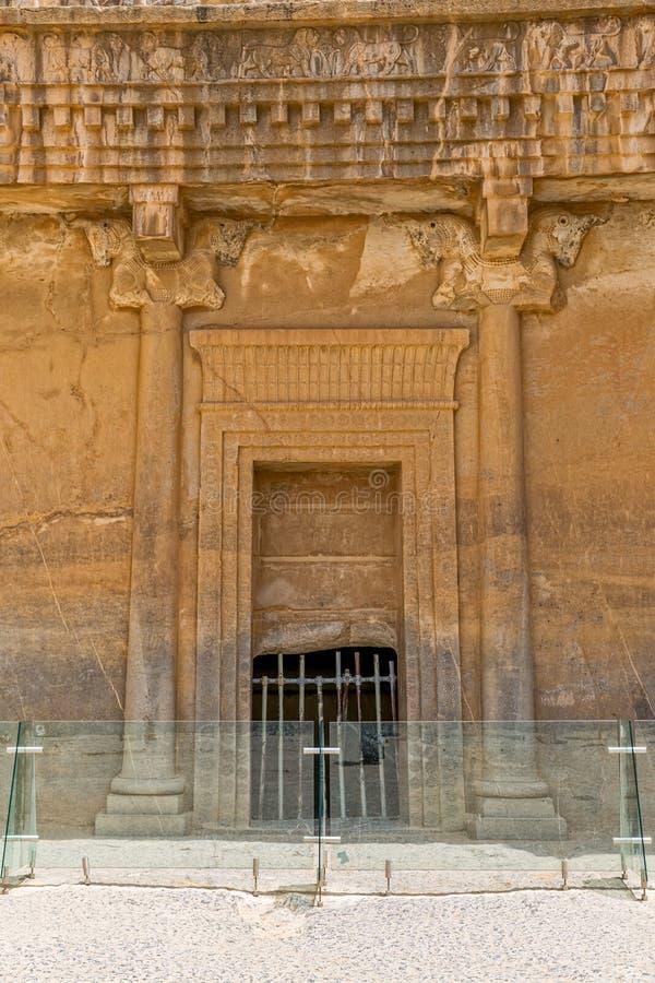 Faravahar Persepolis symbol royaltyfri fotografi