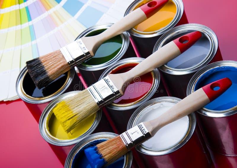 farbę. zdjęcie stock