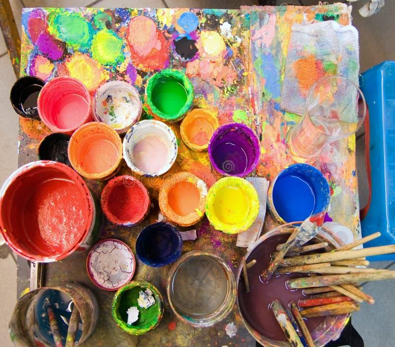 farbę. fotografia stock
