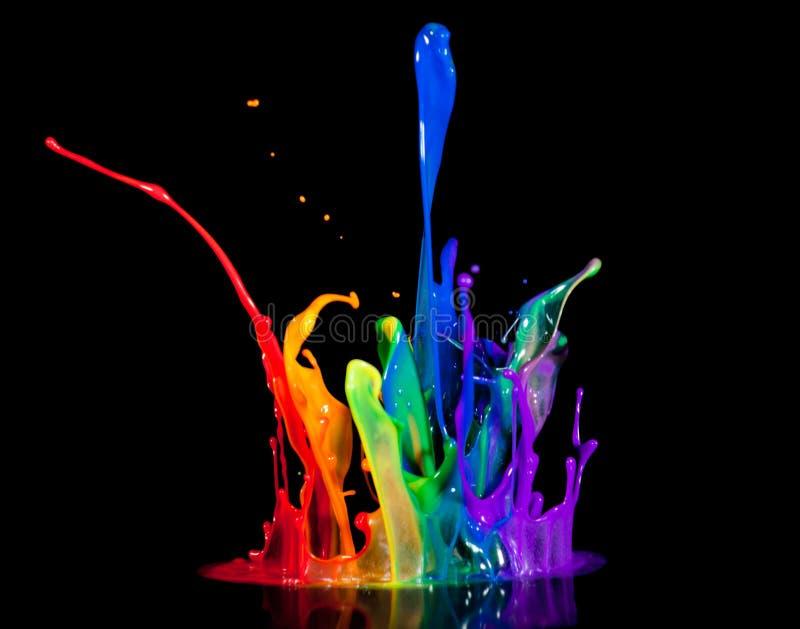 farba mówca zdjęcia stock