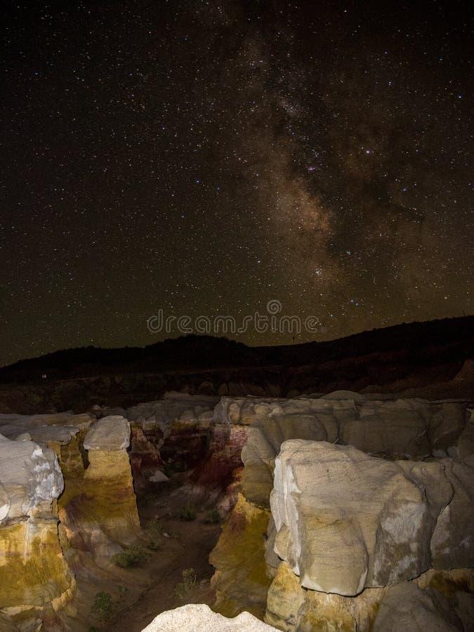 Farba Minuje galaktykę obraz stock