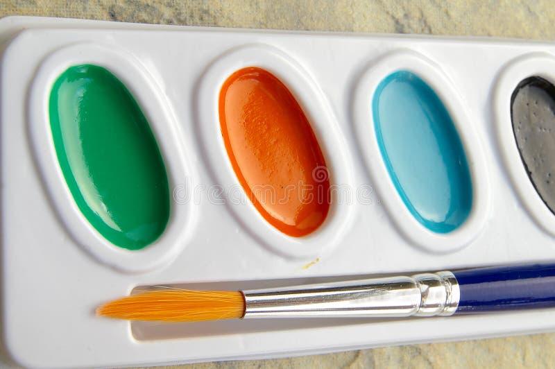 farba rzeczy zdjęcie stock