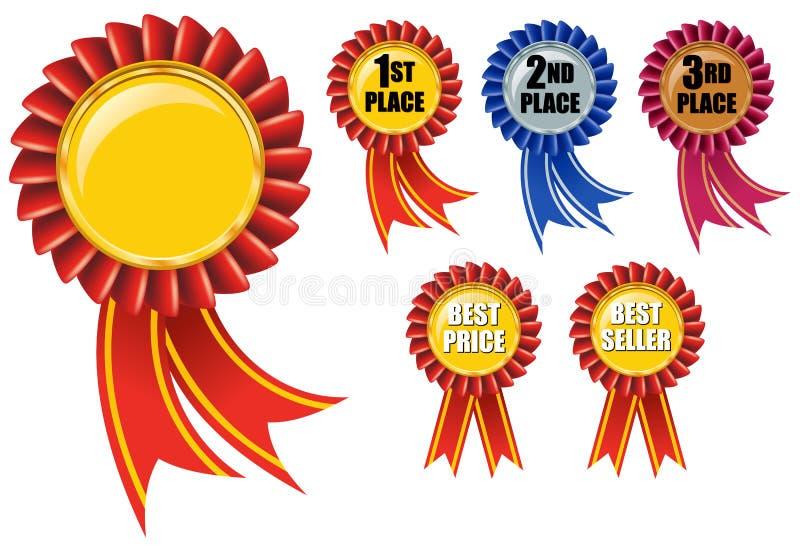 Farbband-Preis stock abbildung