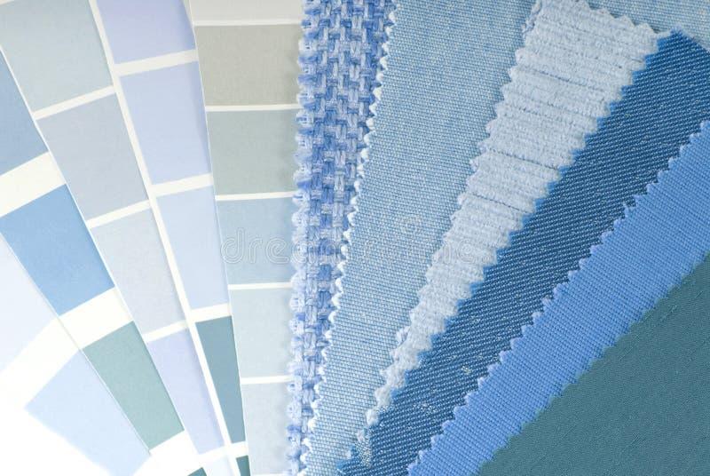 Farbdekorationsauswahl lizenzfreies stockbild