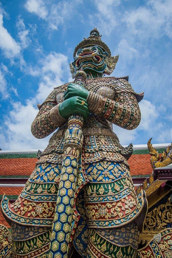 Farbe blauen Himmels Riese-Thailands stockbild