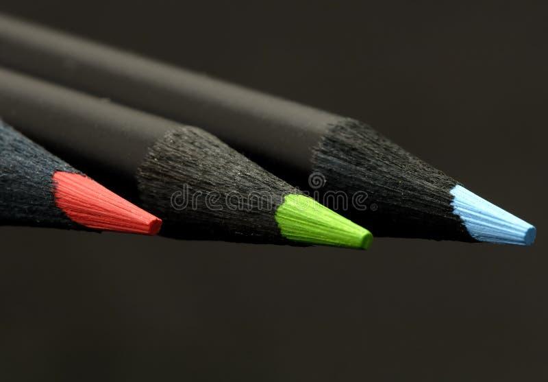 Farbe Bleistifte lizenzfreie stockbilder