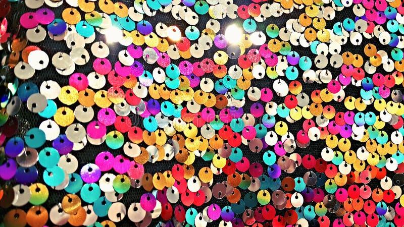 Farbe in den Kreisen stockbild