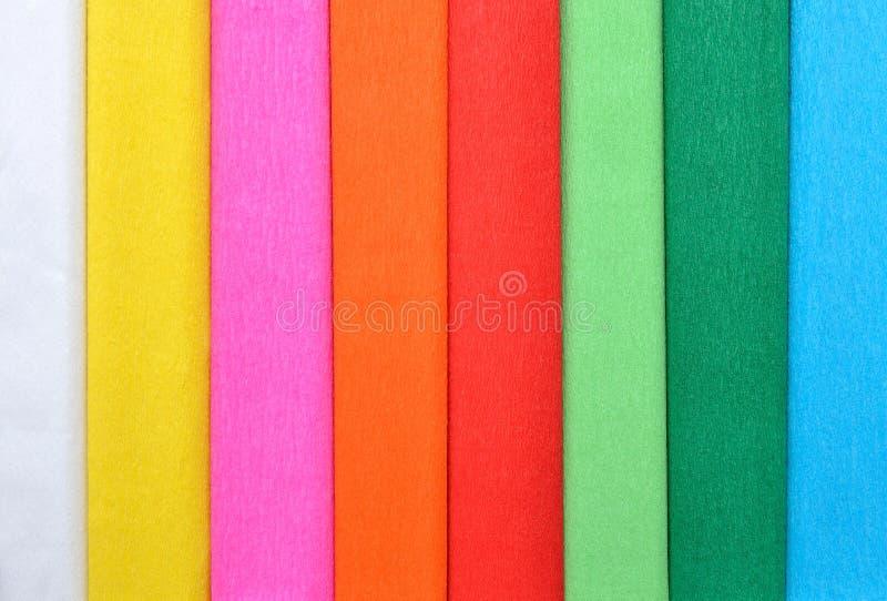 Farbe Gewebepapier Hintergrund lizenzfreie stockfotos