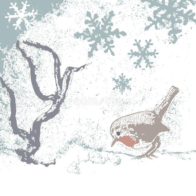 Farbe Robin-2 lizenzfreie abbildung