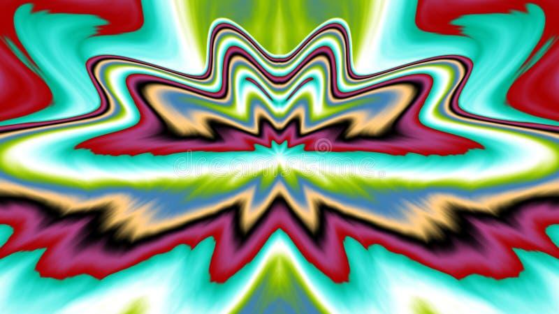 Farbe und Spaß, mit großem Bildschirm lizenzfreie abbildung