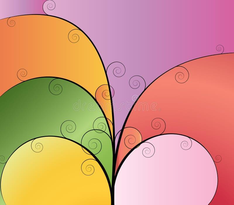 Farbe variaton vektor abbildung