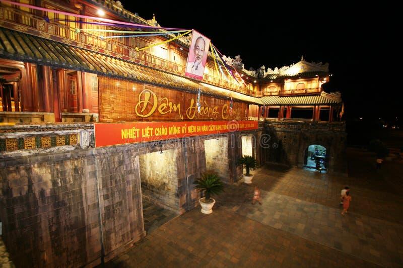 Farbe-Zitadelle Vietnam stockfoto