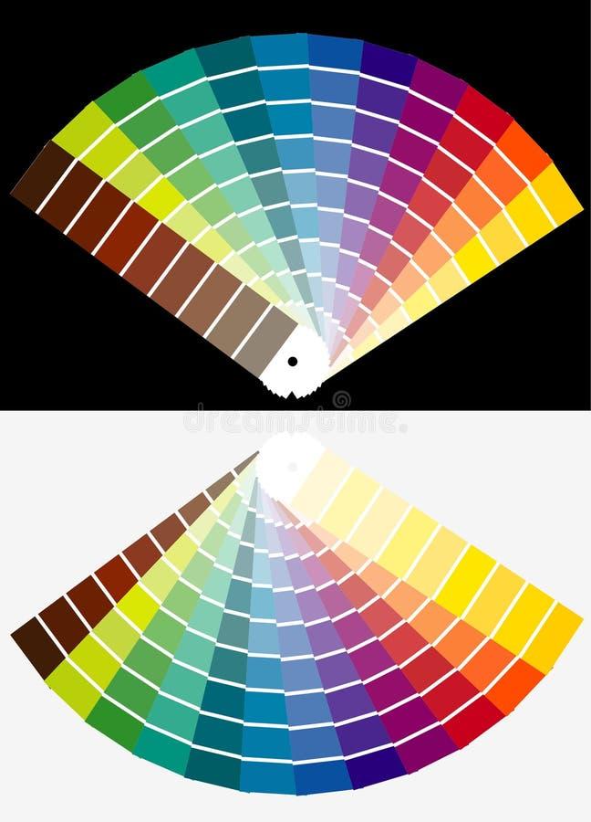 Farben lizenzfreie abbildung