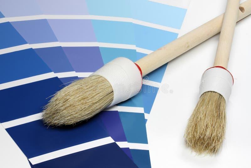 Farben-Beispieldiagramme lizenzfreie stockfotos