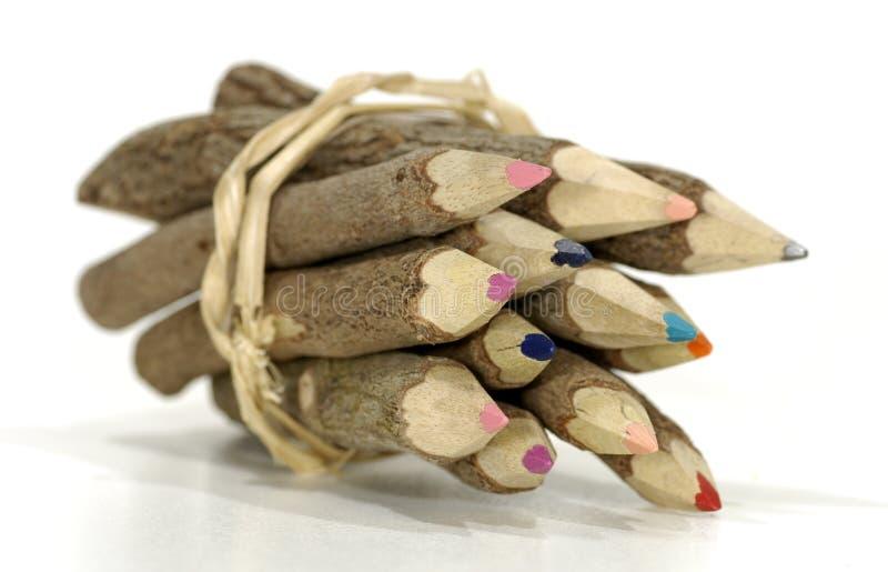 Farben-Bleistifte stockbild
