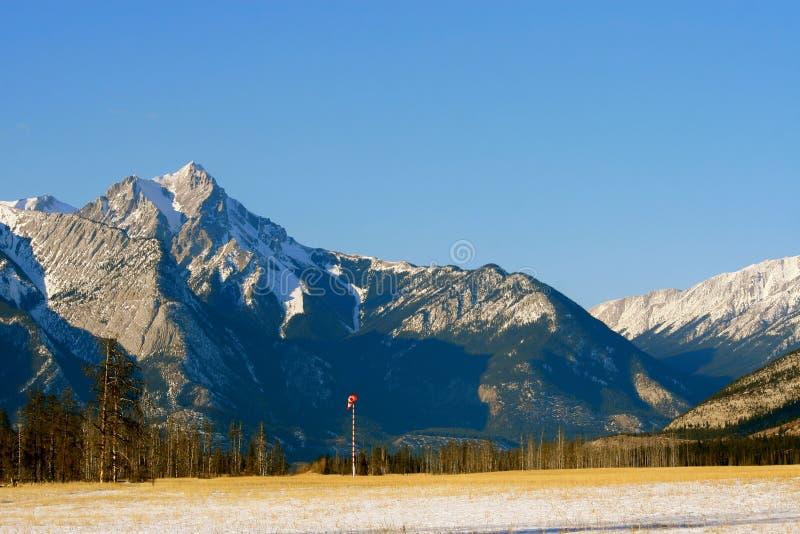 Farben der kanadischen felsigen Berge lizenzfreies stockfoto
