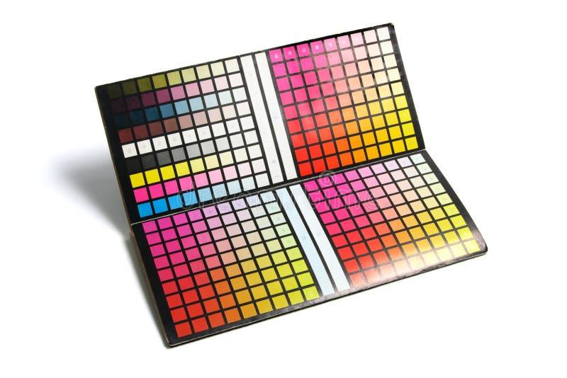 Farben-Diagramm lizenzfreie stockfotografie