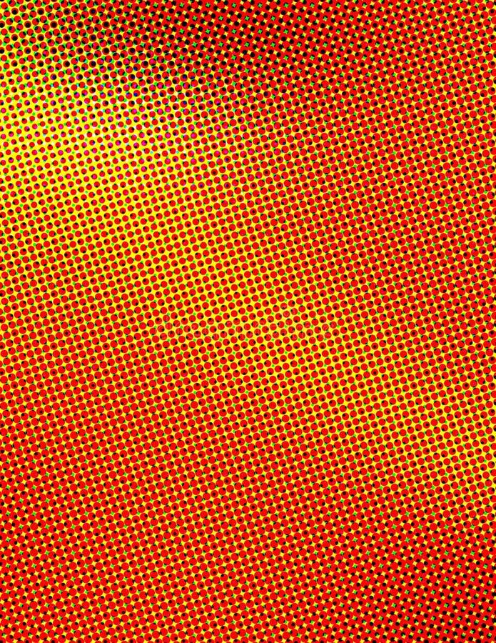 Farben-Halbtonbild Stockbild
