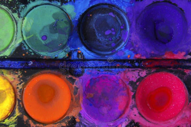Farben-Kreise lizenzfreies stockfoto