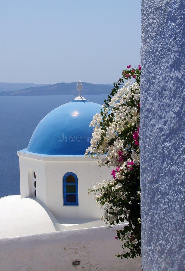 Farben in Santorini stockfotografie