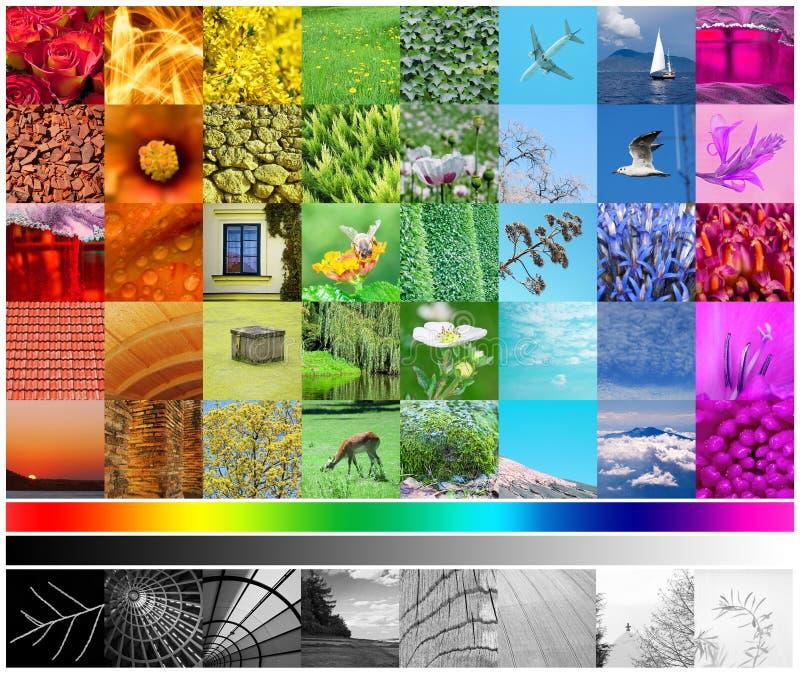 Farben-Spektrum lizenzfreie abbildung