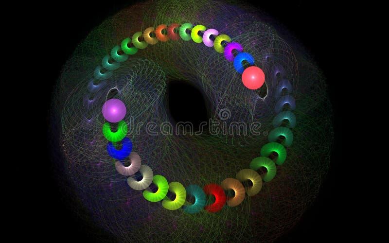 Farben-Strudel bas lizenzfreie stockfotos