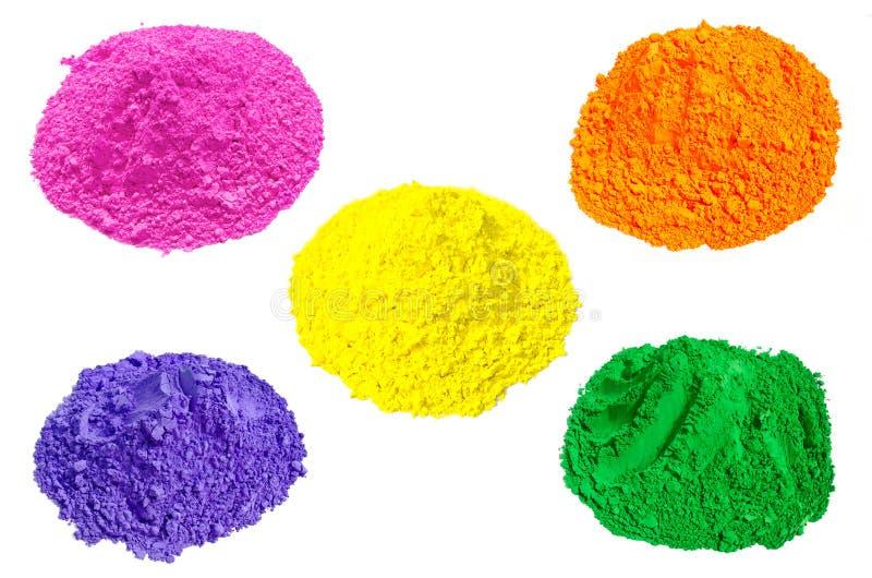 Farben von Indien stockfoto