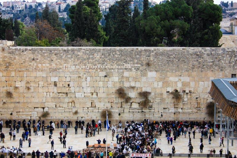Farben von Jerusalem in Israel lizenzfreie stockbilder